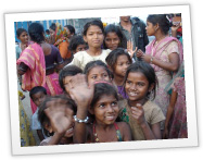 Children at CRY supported project Aakaar