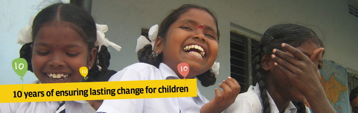 10 years of ensuring lasting change for children