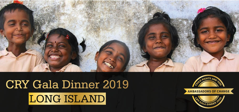 CRY Gala Dinner at Long Island on Thursday, March 07, 2019