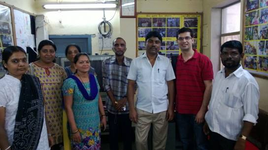Visit to Aakar - CRY project in Mumbai