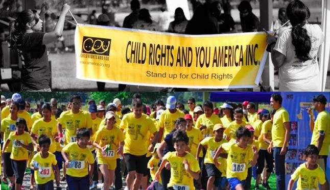 CRY Walk for Child Rights 2014